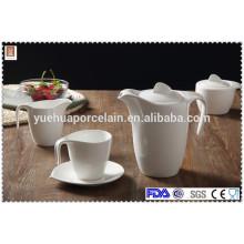 Europa Cerâmica café chá pot / leite jar / açúcar pote conjunto