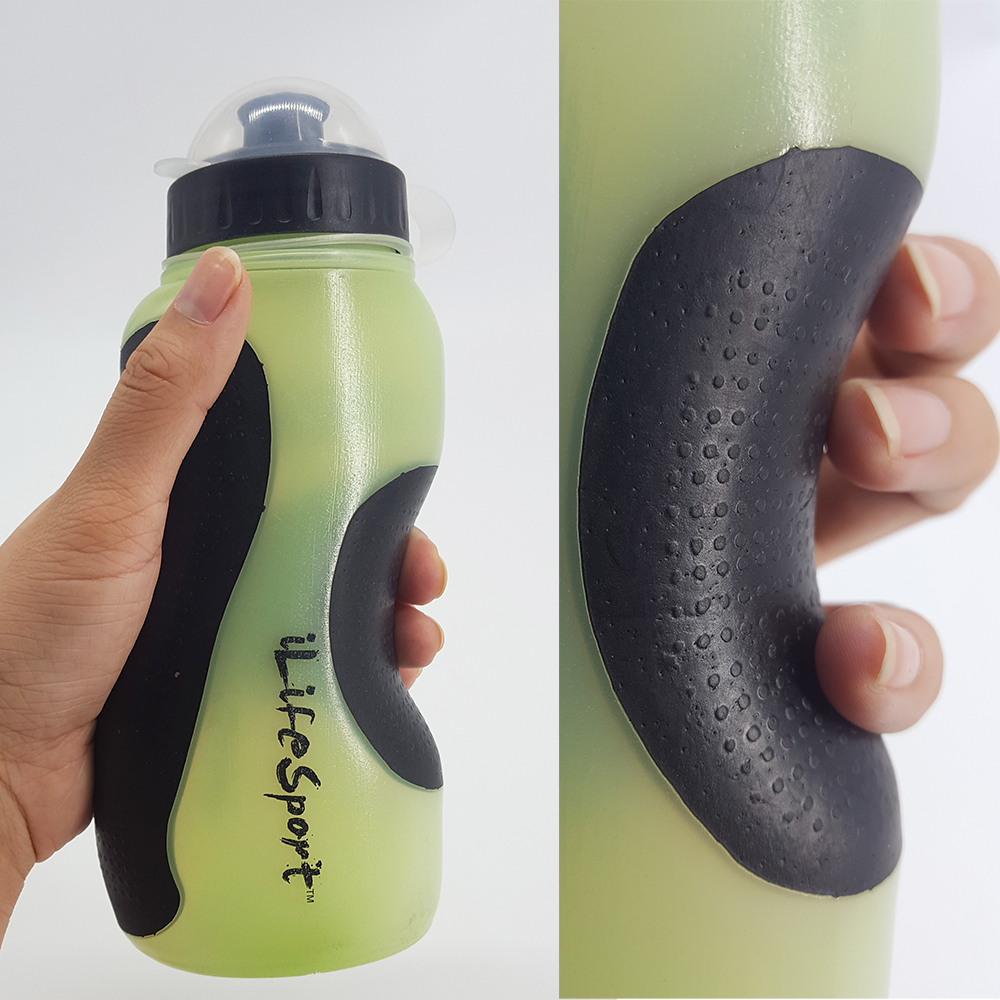 LDPE comfort hold sports race water bottle