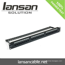 24-портовая коммутационная панель для сетевых кабельных аксессуаров
