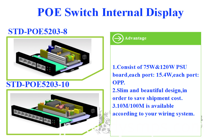 gigabit standard managed poe switch