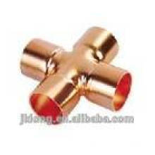 Copper Crossover pipe fitting
