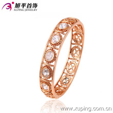 Bijoux fantaisie Rose Coloris Luxe Zircon Round Bangle