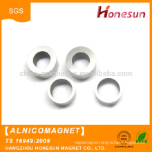 Factory direct wholesale Big ring sintered alnico magnets