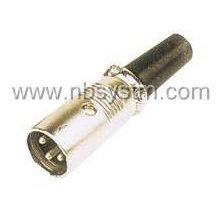 3P / 4P Mikrofonstecker