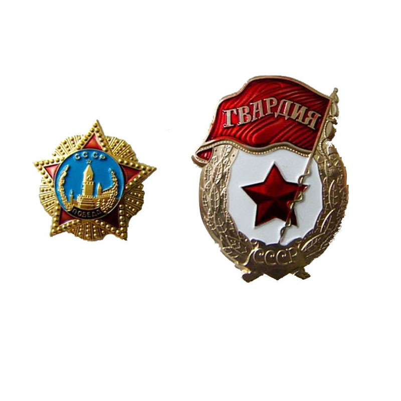 Russian Badge Military Metal Pin Badges