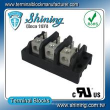 TGP-050-03A 50A 3 Pole Power Supply Spade Terminal Connector