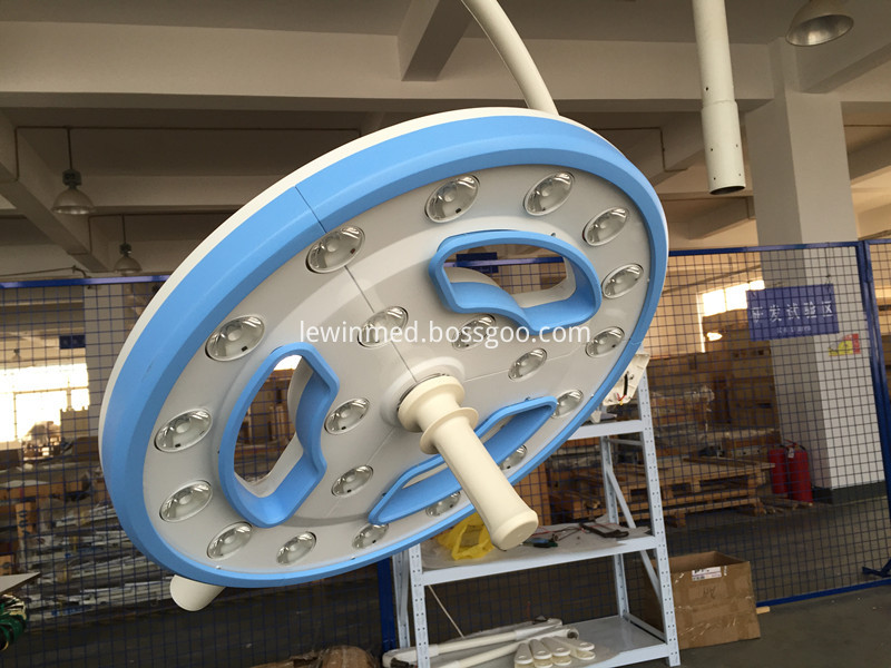 LED hollow surgical lamp