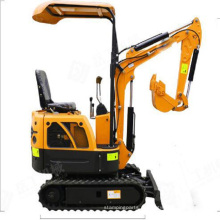 Mini Escavadora 800kg mini-escavadora de rastos