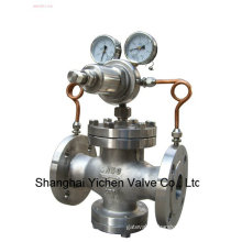 Pilot Piston Type Stainless Steel Gas Pressure Reducing Valve