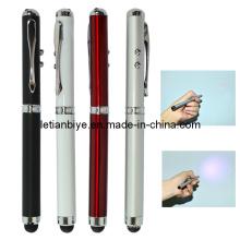Metall Touch-Pen mit LED Licht und Laser (LT-Y116)