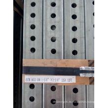 China Factory Supply Perforierte Stahl Quadrat Traffic Sign Posts mit Bestpreis