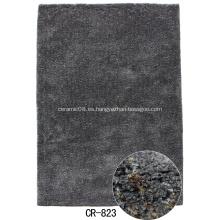Microfiber Shagy suelo alfombra para la decoración del hogar