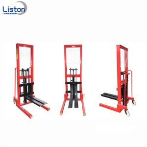 Murah 3 Ton Manual Forklift Hydraulic Pallet Stacker