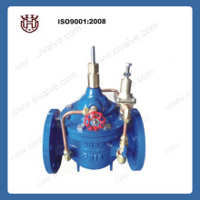 400x Cast Iron Water Flow Control Valve To Adjust Flow