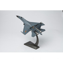17.7 Inches Die-Cast Alloy J-11b Fighter Jet Model High Authentic Simulation Airplane Model Scale 1: 48 Professional Aircraft Manufacturer