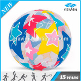 PVC transparent inflatable advertising beach ball