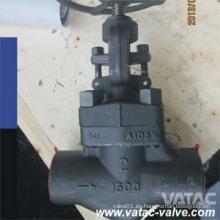 Válvula de acero forjado con extremos RF / NPT / Bw