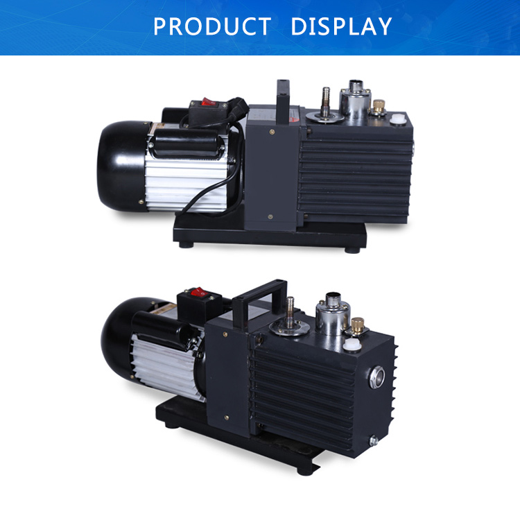 Double Stage Oil Rotary Portable Vane Vacuum Pump