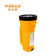 2017 latest multi-functional portable led rechargeable charger torchlight for sale