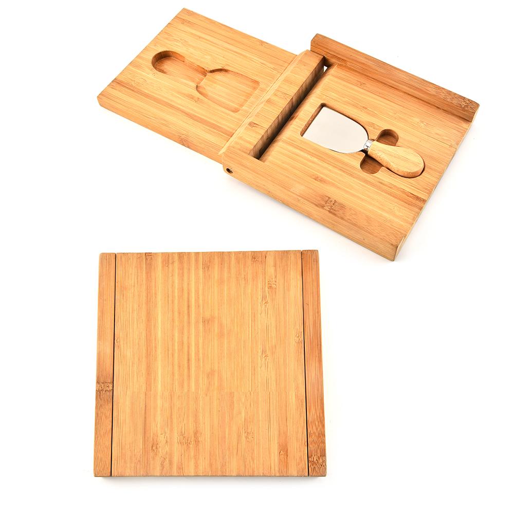 1piece Cheese Spatula Set With Bamboo Box