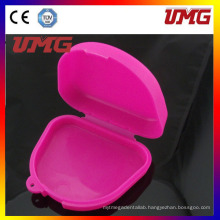 Colorful Dental Denture Retainer Box, Dental Supply
