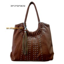 Innovative discount short handle handbag