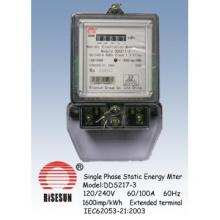 Single Phase Energy Meters With Long Terminal Cover