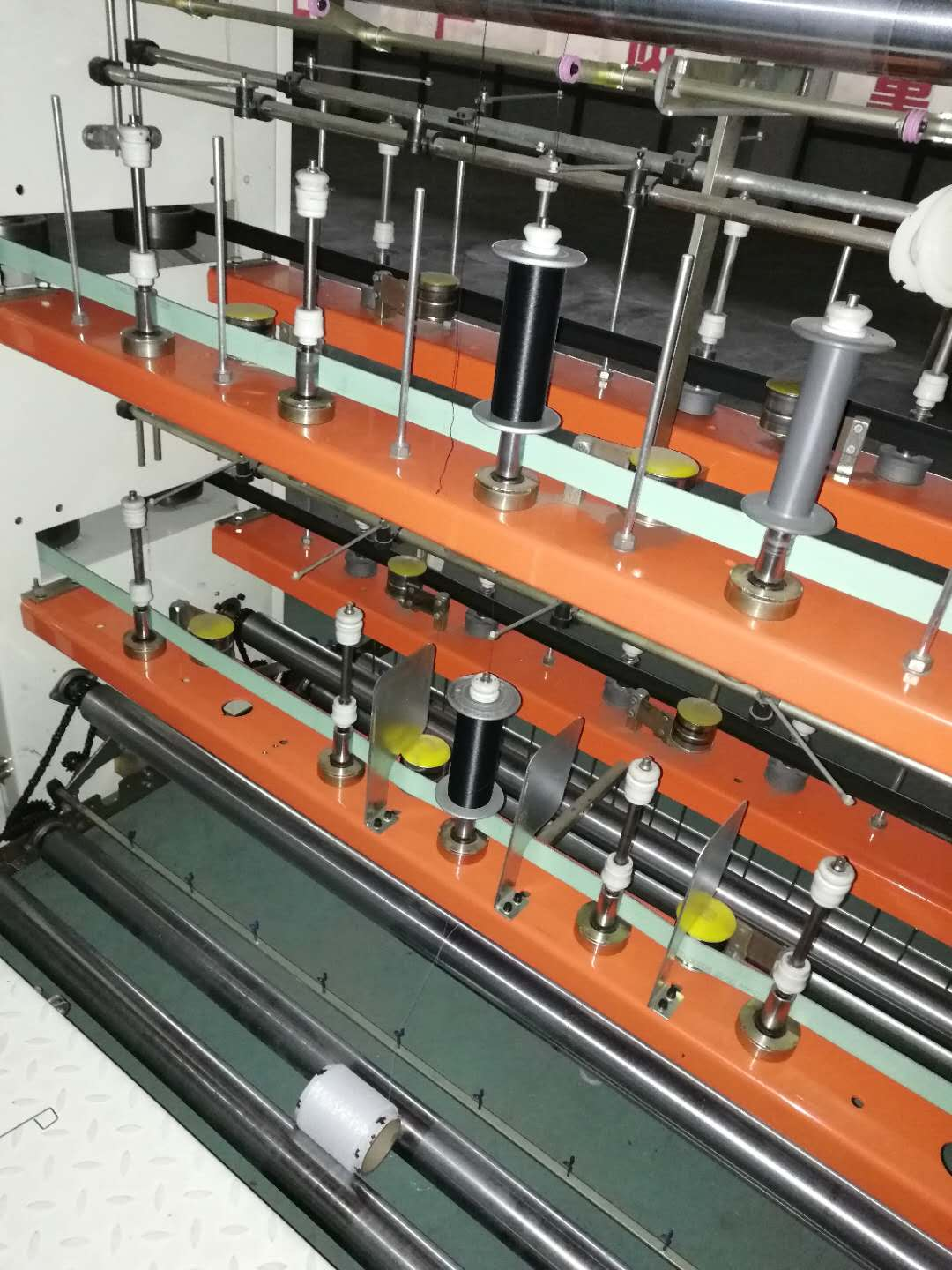 Elastic Rubber Yarn Doubling Covering Machine
