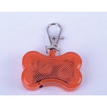 LED-Knochen-Form-Haustier-Hundetag-Engraver mit Erkennungsmarke-Kette