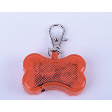 LED Bone Shape Pet Dog Tag Engraver With Dog Tag Chain