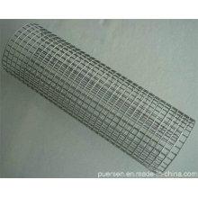 Malla de alambre soldada recubierta de zinc galvanizado de alta calidad