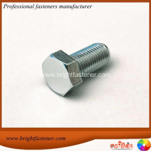 High Quality for Hex Cap Bolts DIN 601 Zinc Hexagon Head Screws export to Uzbekistan Importers