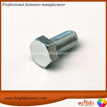 DIN 601 Zinc Hexagon Head Screws