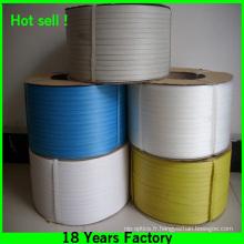 Courroie d'emballage en plastique à haute résistance de 0.5mm d'épaisseur