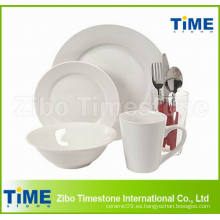 Venta al por mayor de porcelana de cerámica 32PCS conjuntos de vajilla
