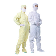 ESD Clean Room Jump Suit Coverall (work garment) for Worker in Cleanroom