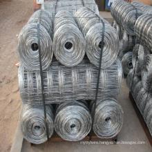 Factory Direct Sale Galvanized Grassland Field Wire Mesh / livestock solution Fence