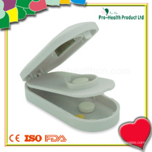 Medical Plastic Tablet Cutter With Pill Box