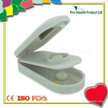 Medical Plastic Tablet Cutter com caixa de comprimidos