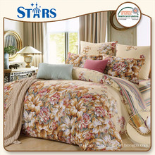 GS-SACOTTON-01 Goostars brand beautiful pattern cotton bed sheet set