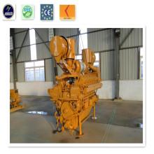 140 кВт 230V / 400V Углеродный генератор газа с генератором Cummins