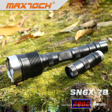 Maxtoch SN6X-7B 18650 2800LM LED Strong 3x cree Flashlight