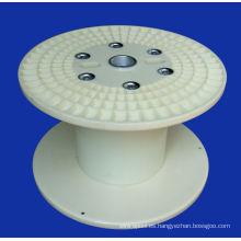 Carrete plástico de 500 mm plato de línea redondo