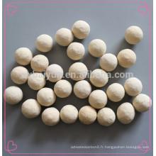 Boules d'alumine de microcristal Boule d'alumine de taille moyenne