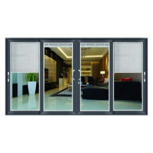 Maßgefertigte Lamellentüren / Aluminiumlegierung Glasschiebetüren Maßgefertigte Lamellentüren / Aluminium-Glasschiebetüren