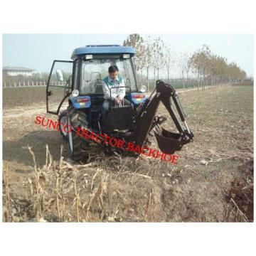 Minibagger LW-7 angetrieben von Traktor