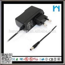 Dc 6v 2a adaptador de alimentación de pared adaptador de corriente alterna dc euro plug adaptador de corriente alterna