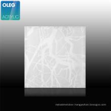 OLEG Interior decoration 3mm thick custom marble effect acrylic sheet