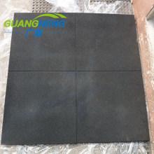 Black Color 15mm Thickness Gym Rubber Tile