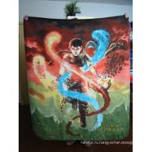 Печатные супер мягкого флиса одеяло (SSB0107)